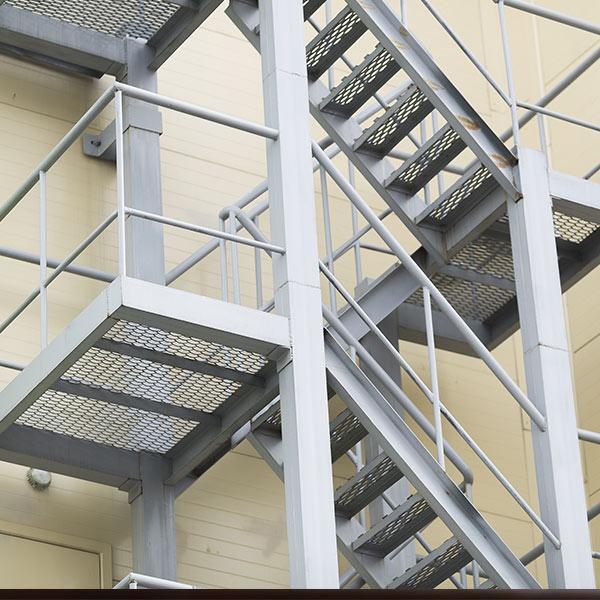 Fire Escape - Steel Fabrication Newton Aycliffe